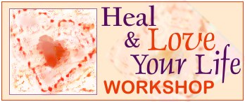 Heal & Love Your Life Workshop Logo