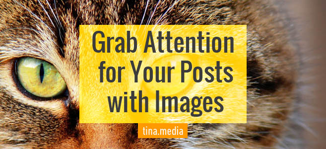 Grab Attention For Your Posts With Eye-Catching Images